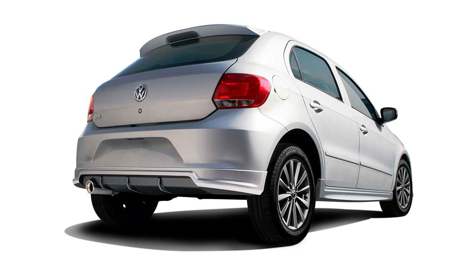 Body kit para Gol de Volkswagen disponible para varias versiones de modelos.