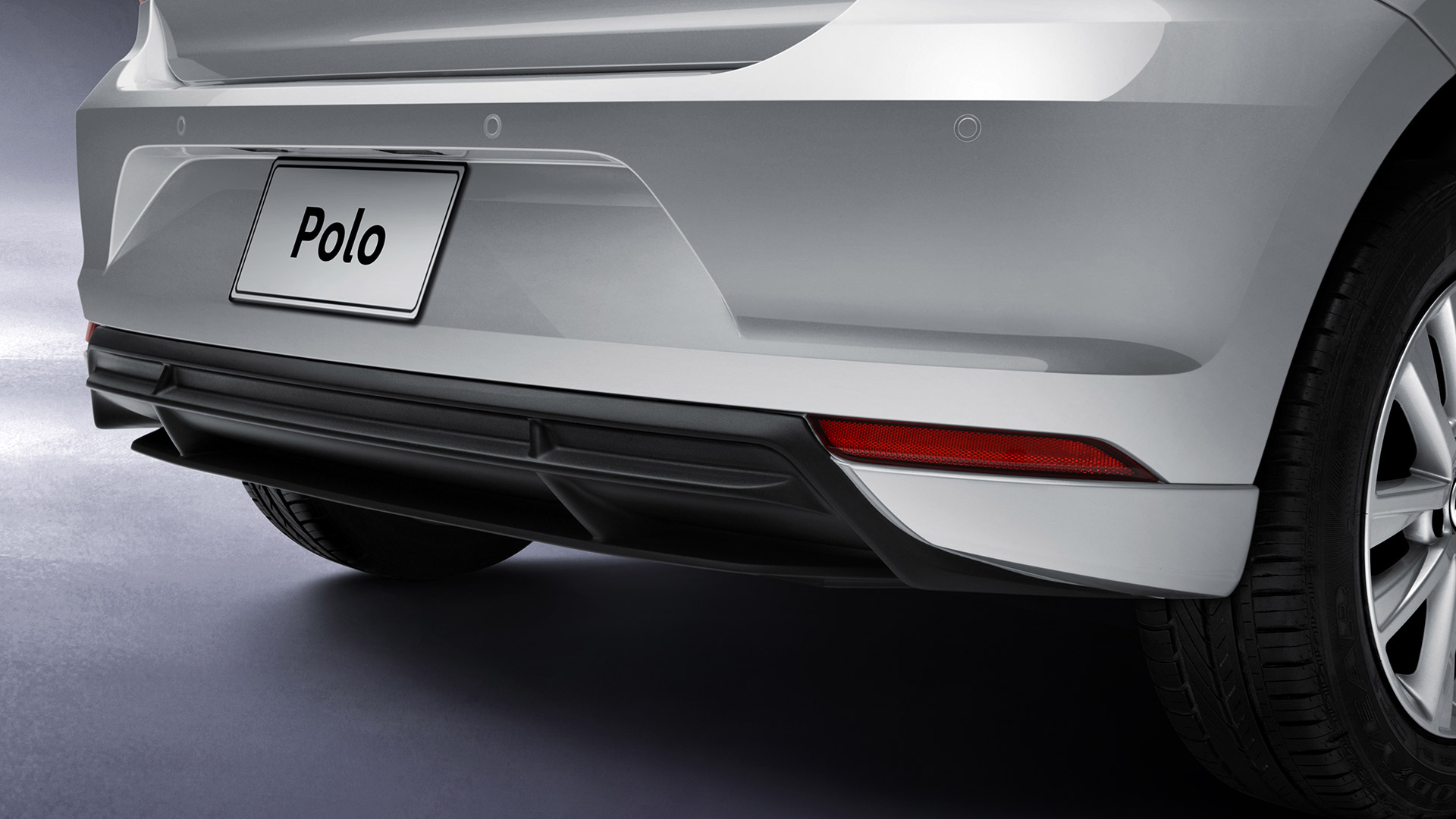 Sensores de reversa acústicos para Volkswagen Polo.