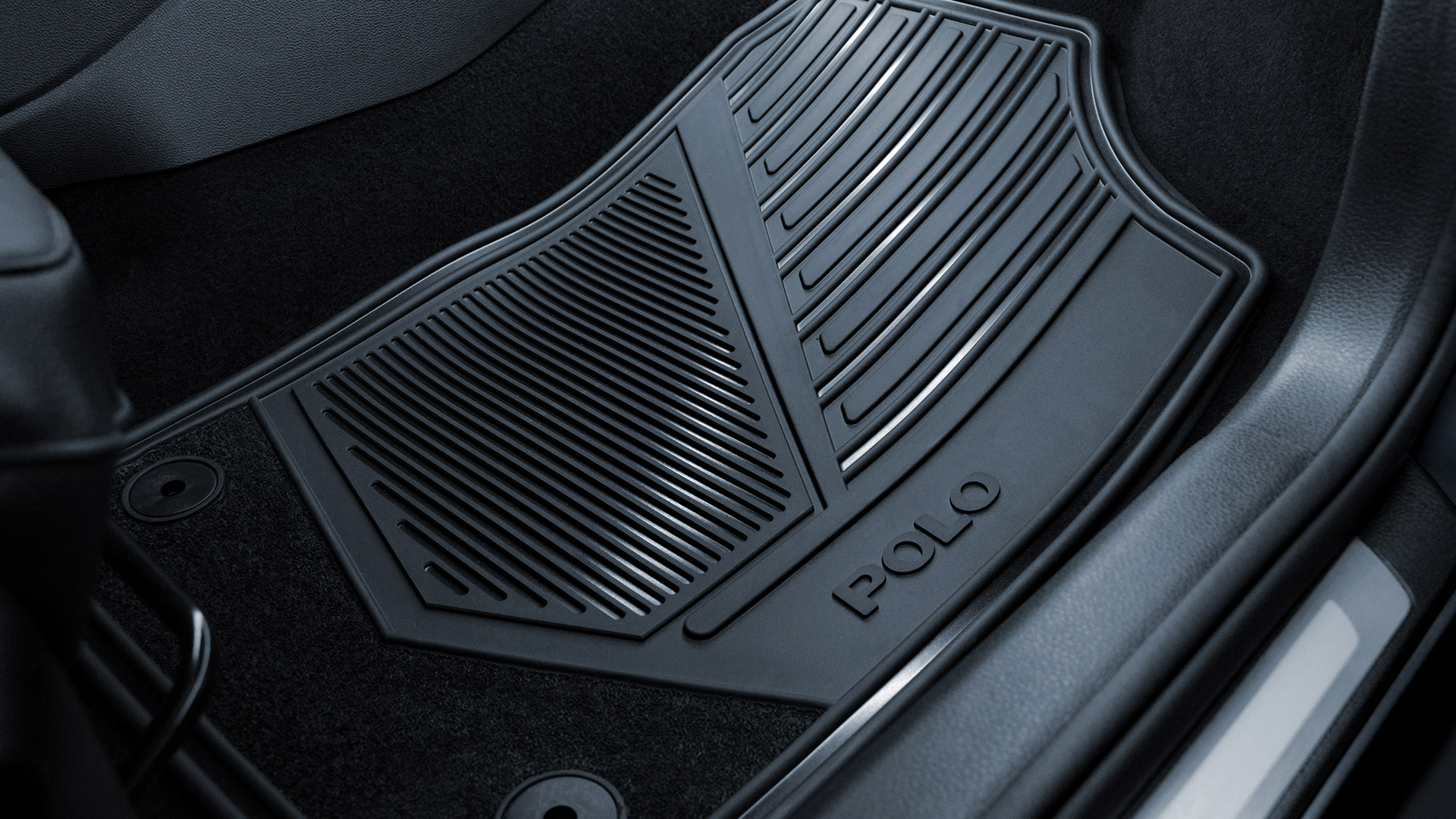 Tapetes de goma delantero para VW Polo, de venta en Das WeltAuto.