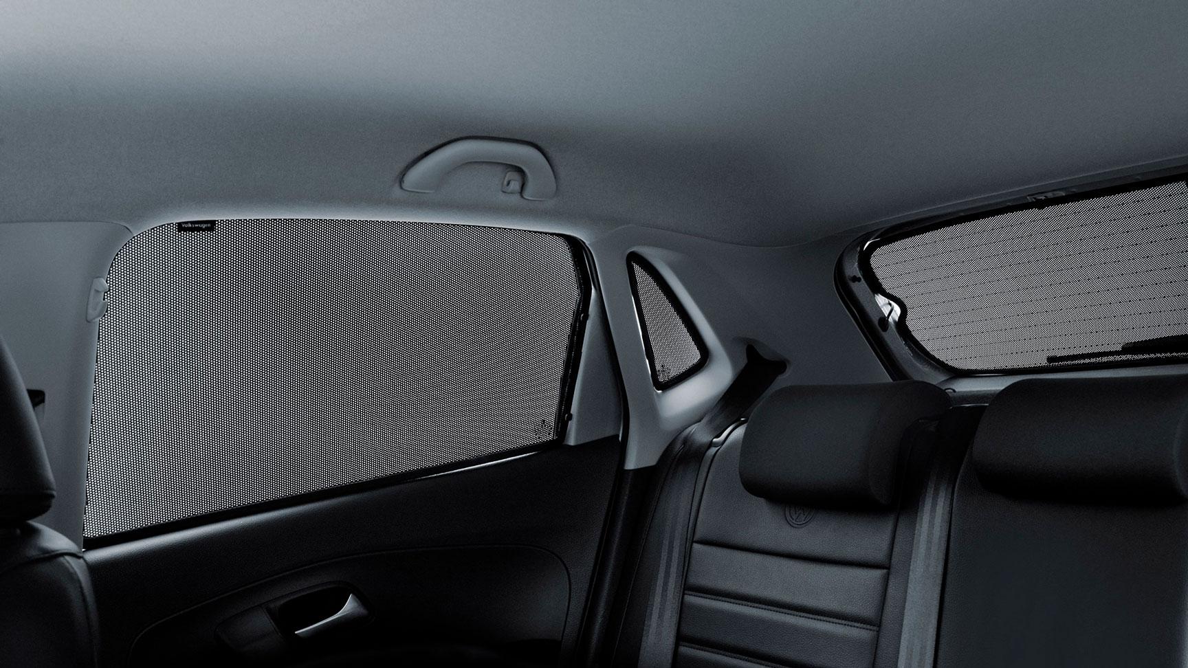 Cortinillas para automóvil Volkswagen Polo para ventanillas y luneta.