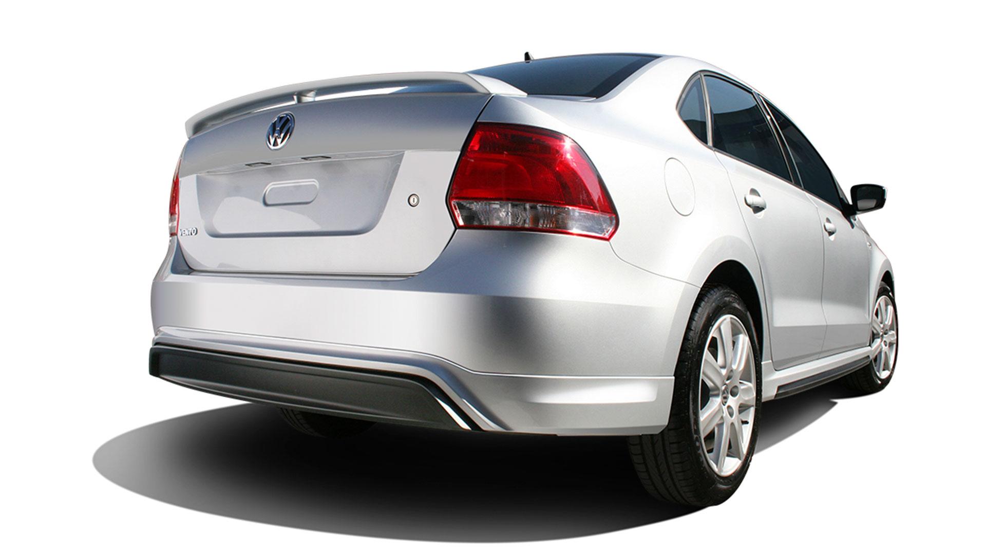 Kit aerodinámico Vento Volkswagen para apariencia deportiva.