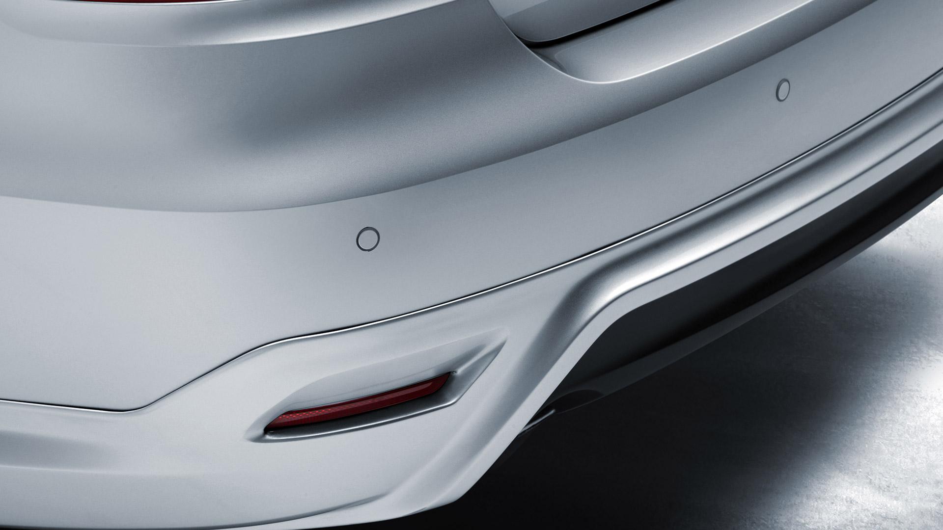 Sensores de reversa básicos acústicos para Volkswagen Vento.