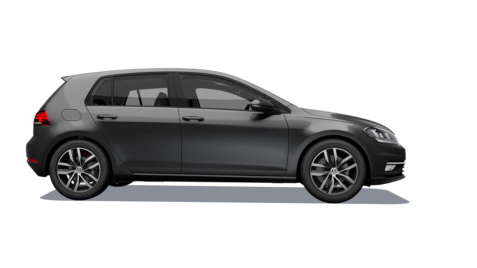 Imagen de hatchback Volkswagen Golf 2020, un auto calificado como seguro