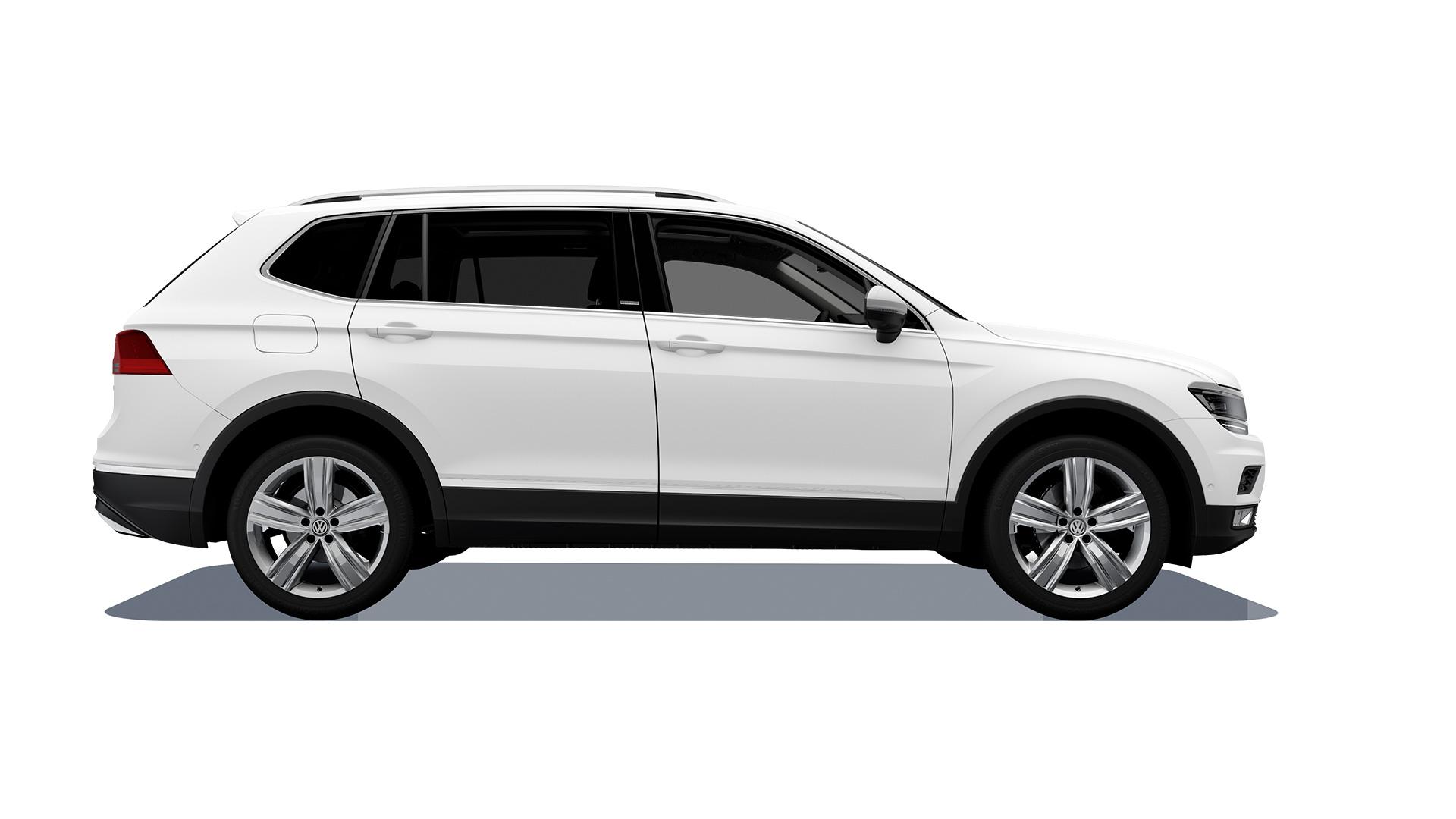 Imagen de Tiguan 2020, camioneta familiar de VW calificada como segura