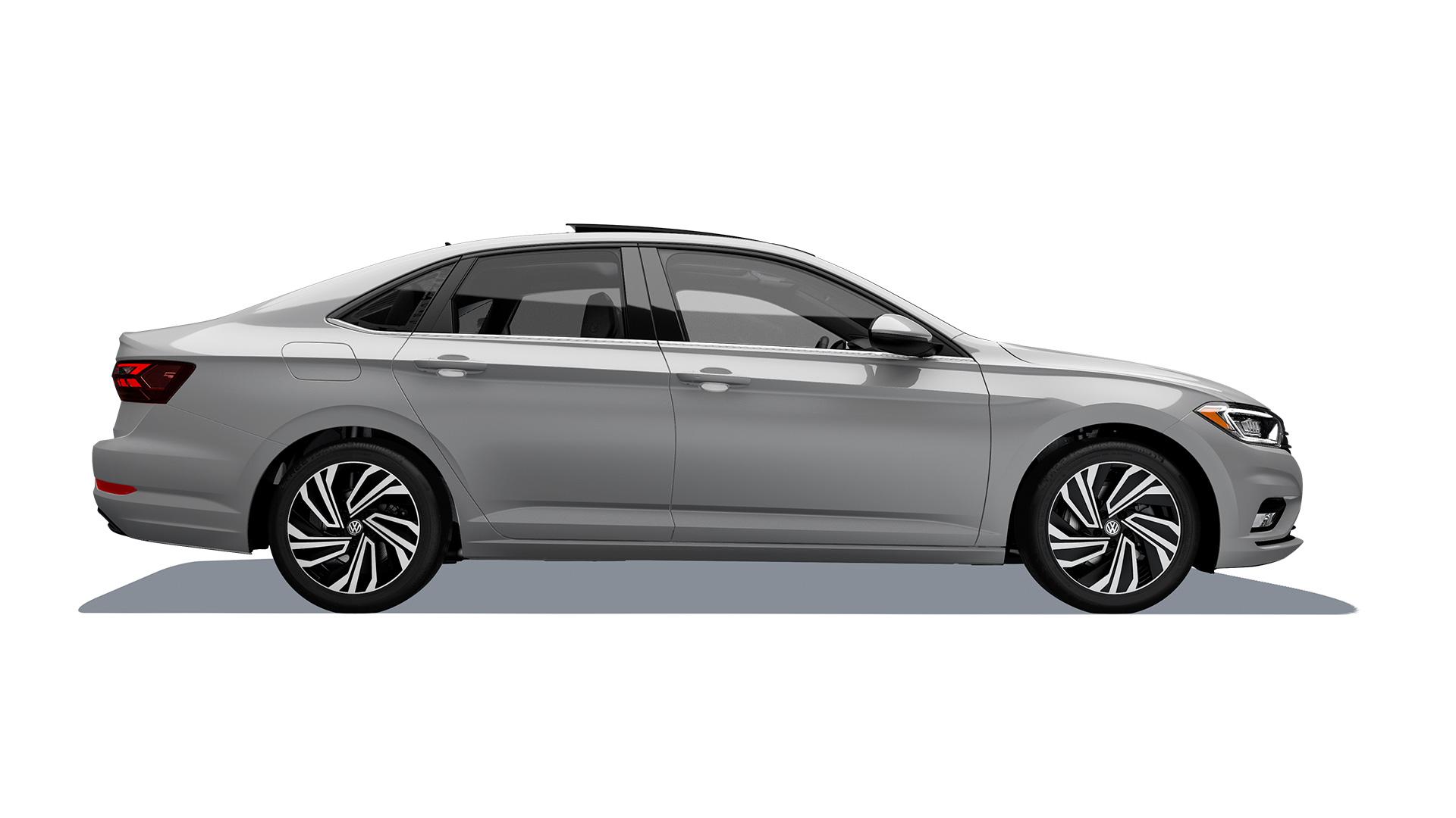 Imagen de sedán Jetta de Volkswagen, catalogado como seguro por Latin NCAP